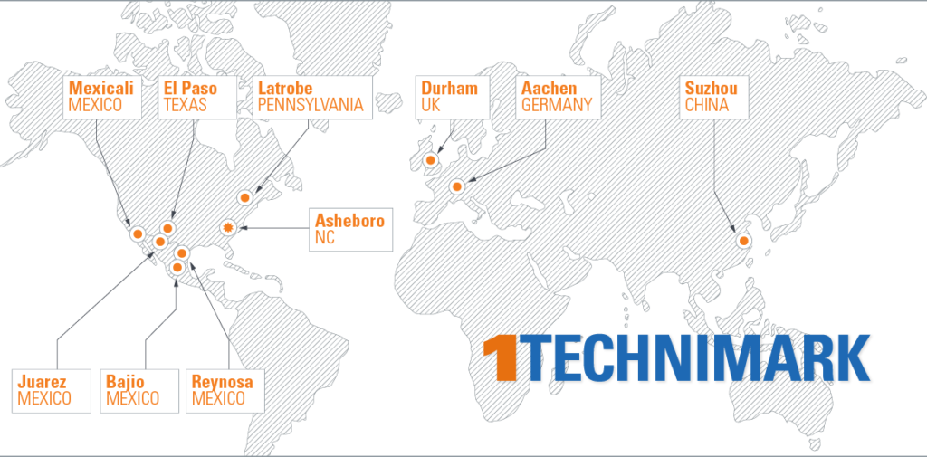 technimark-global-locations-map-2019 - Technimark - Turnkey